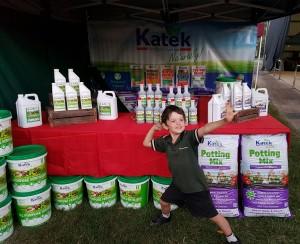 Katek at the Gympie Garden Expo