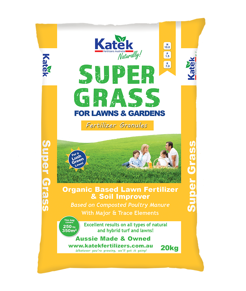 Super Grass - For lawns and gardens