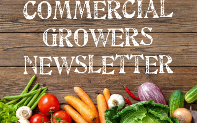 Commercial Growers Newsletter ~ October to December 2018 ~