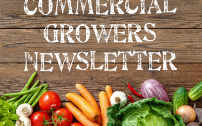 Commercial Growers Newsletter April – June 2019