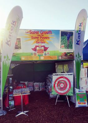 Katek was on target at the QLD Garden Expo!