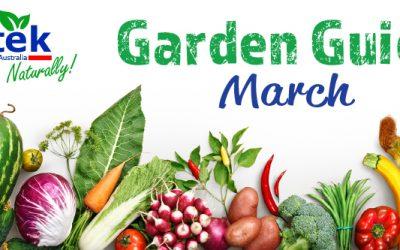 March Garden Guide 2018