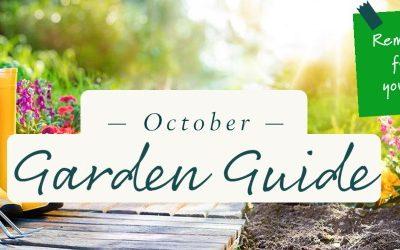 October Garden Guide 2021