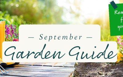 September Garden Guide 2021